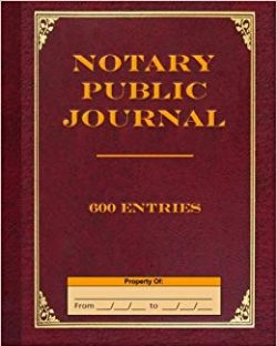 Notary Public Journal SF